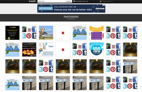 از TwiPho برای جستجوی تصاویر مرتبط با هر هشتگ استفاده کنید