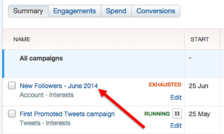 twitter reports campaign