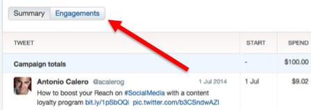 twitter reports metrics