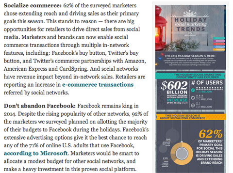 offerpop holiday infographic article