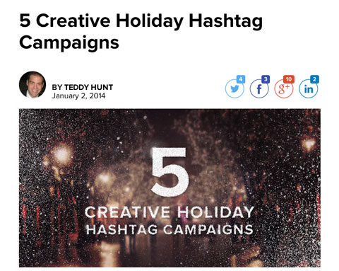 postano holiday marketing article