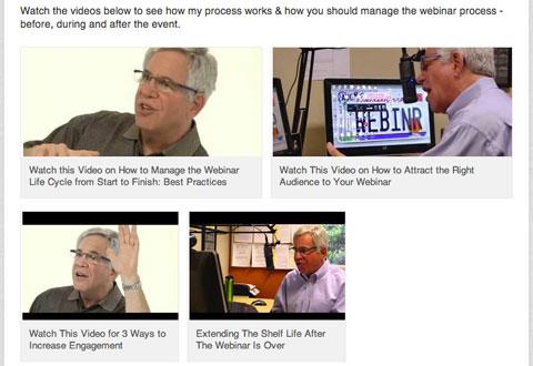 videos on linkedin profile