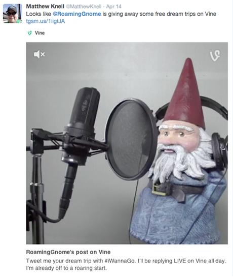 roaming gnome video responses