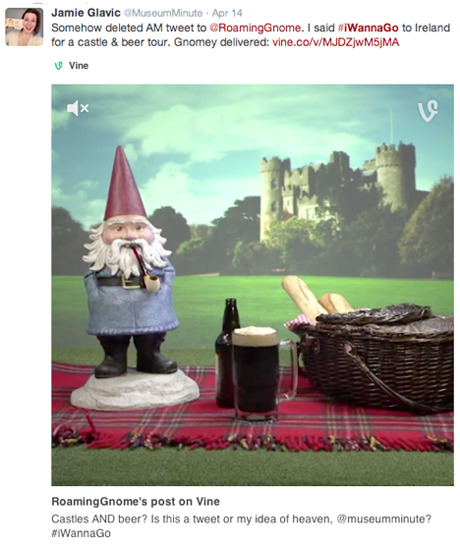 roaming gnome vine response