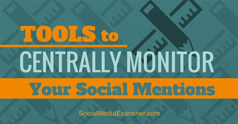 monitor social mentions