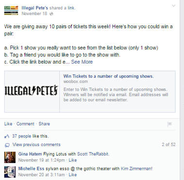 illegal petes facebook post