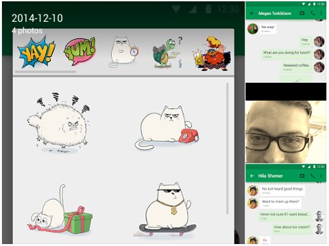 google hangouts android update