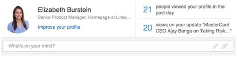 linkedin homepage redesign