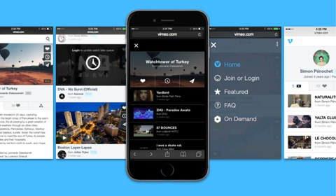 vimeo for mobile