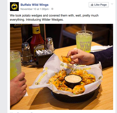 buffalo wild wings post