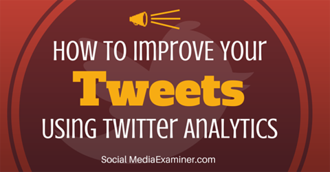 improve your tweet activity