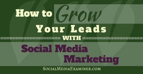 grow leads with social media