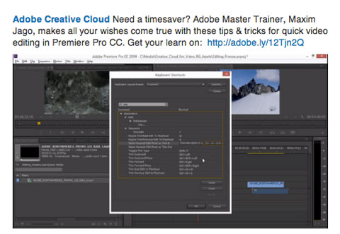 adobe creative cloud content on linkedin
