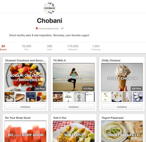 chobani boards on pinterest