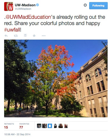 uw madison hashtag post
