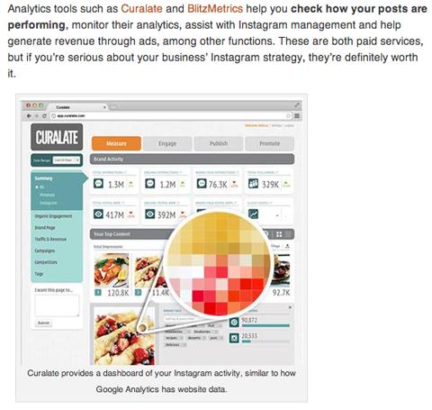 social media examiner instagram article