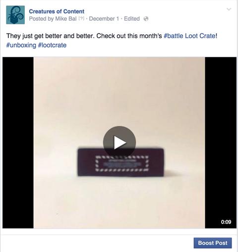 instagram video on facebook