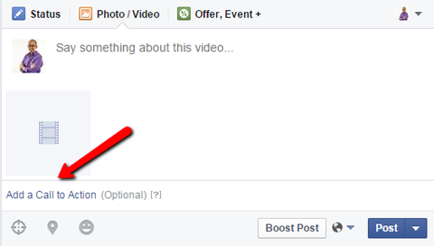 facebook video ad call to action