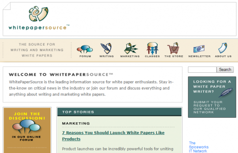 White Paper Source