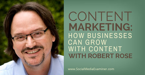 social media examiner podcast with robert rose