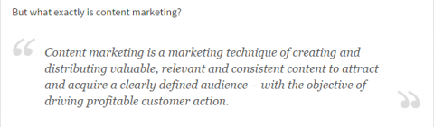 source: Content Marketing Institute