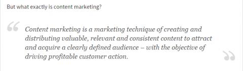 source: Content Marketing Institute