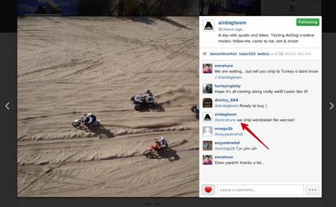 airdog on instagram