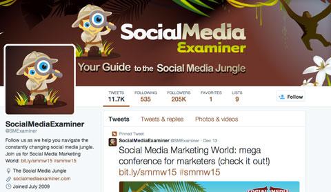 @smexaminer twitter bio