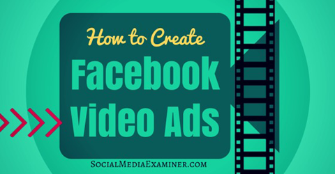 create facebook video ads