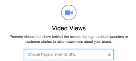 choosing facebook page