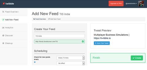 new feed in twibble