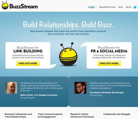 buzzstream website