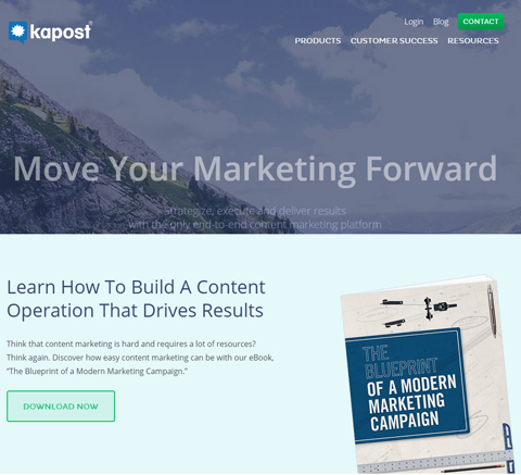 kapost website
