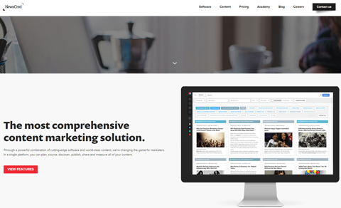 newscred website