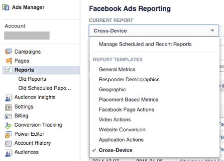 cross device report in ad reporting