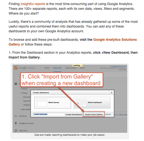 andy crestodina social media examiner google analytics article