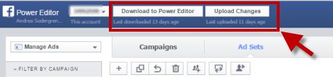 power editor download upload option