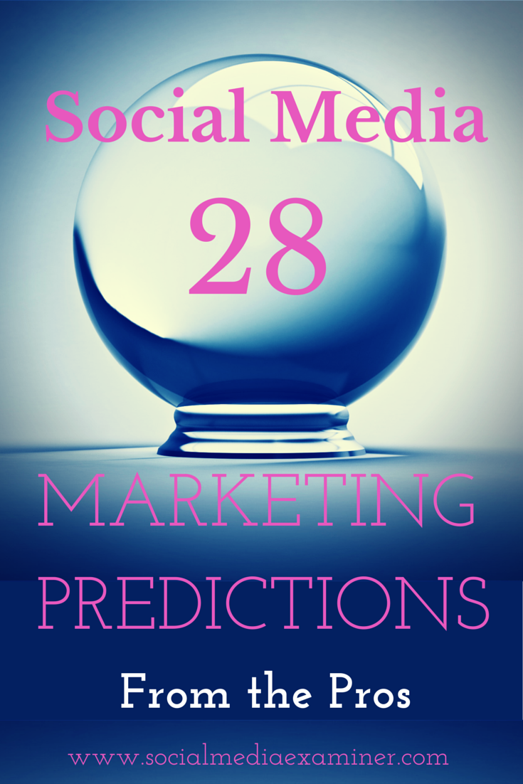 28 social media predictions for 2015