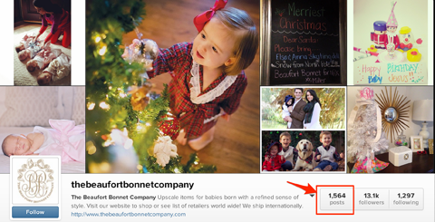 beaufort bonnet company instagram profile