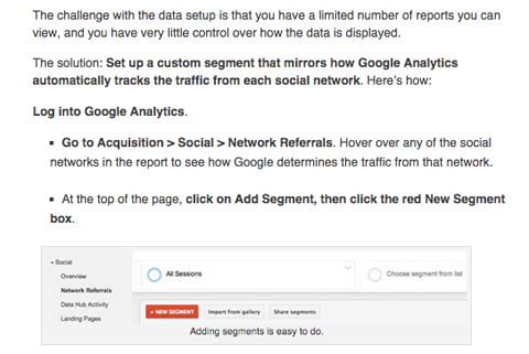 nichole kelly social media examiner google analytics article