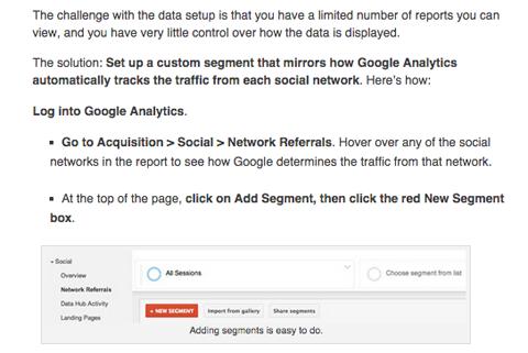 nichole kelly social media examiner google analytics article