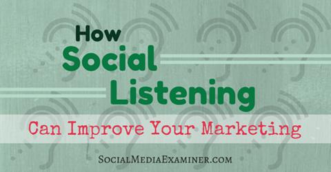 social media listenting