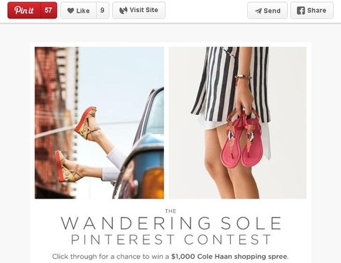 cole haan pinterest contest