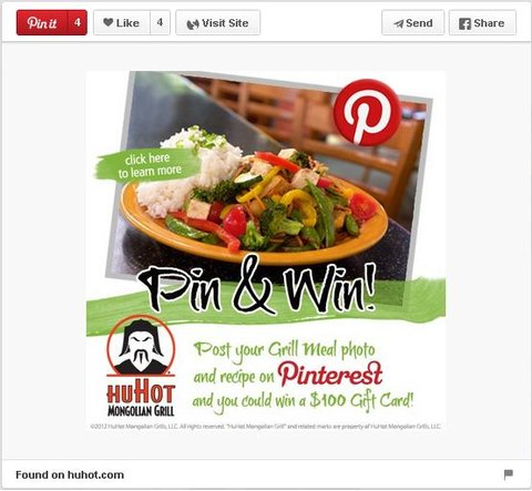 huhot pinterest contest pin