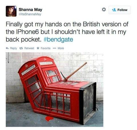 #bendgate tweet