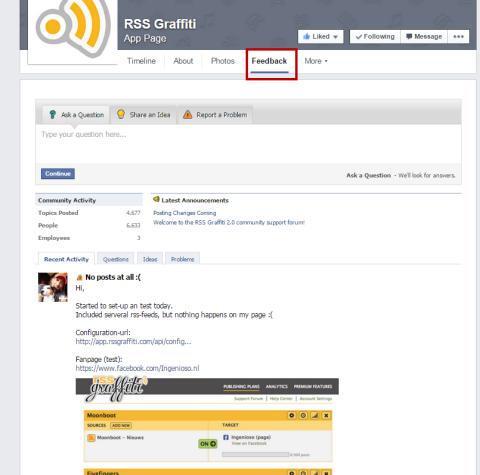 get satisfaction facebook tab