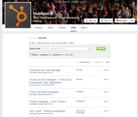 jobvite facebook tab