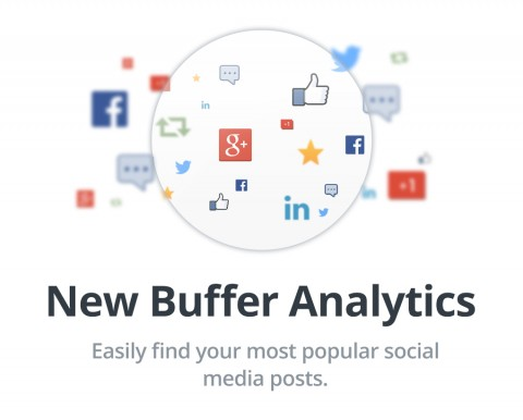 """When you head to the Buffer analytics area, as an Awesome or Business customer you can now choose to order your posts by the most clicks, retweets, likes, or whatever other metric you'd like to see."""