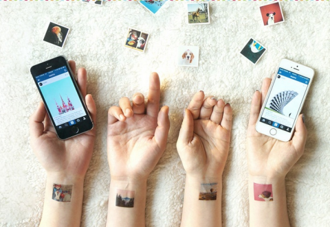 """Turn your Instagrams into temporary tattoos."""