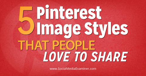 pinterest image styles